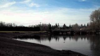 Whatcom Lake, Bloedel Donovan Park on a sunny day, 1/14/2012