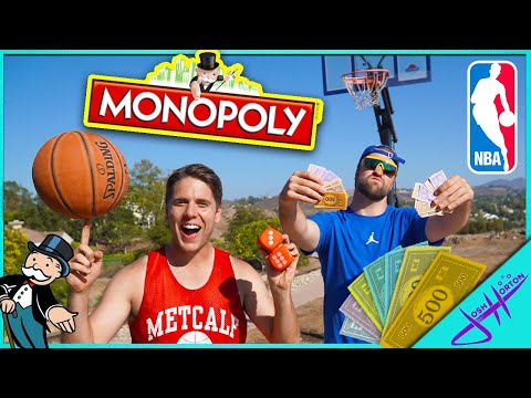 MONOPOLY BASKETBALL GIANT BOARD GAME (NBA Edition)