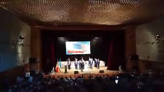 Празднование 28-ой годовщины Гагаузской Республики - открытие торжественного собрания