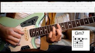 Rex Orange County   Pluto Projector Guitar Lesson