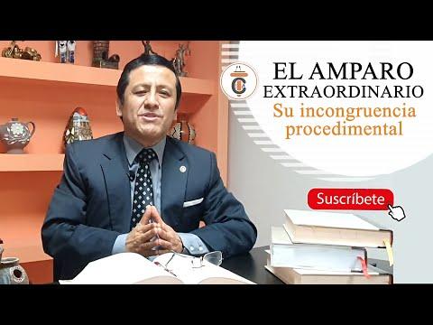 EL AMPARO EXTRAORDINARIO: su incongruencia procedimental - TC182