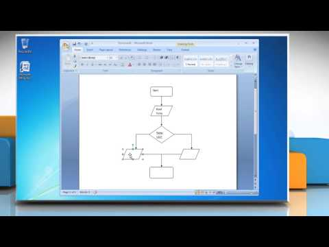 How To Make A Flow Chart In Microsoft Word 2007 Mp3