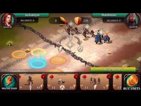 Gameloft's Age of Sparta Basics! New iOS Game Let's Play!