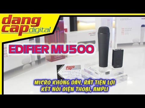 Dangcapdigital.vn - Micro không dây Edifier MU500 || Hát Karaoke mọi nơi!!