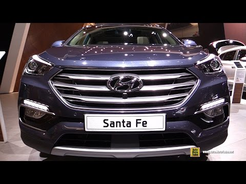 2016 Hyundai Santa Fe 2.2 CRDi AWD - Exterior and Interior Walkaround