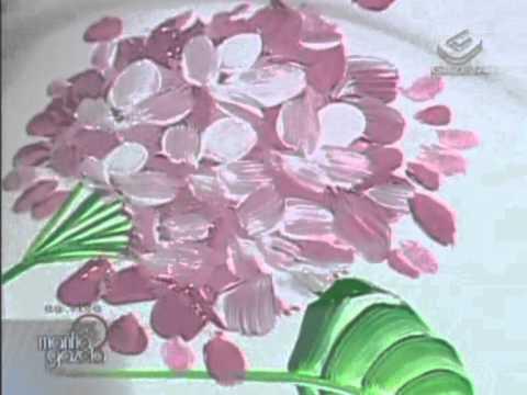 Pintura em cachepôs plásticos