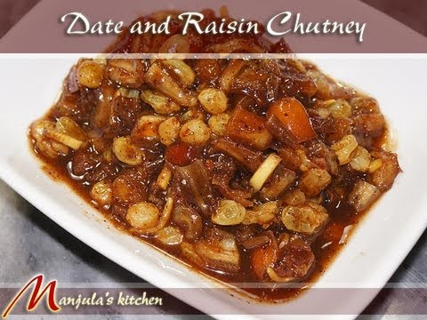 Date and Raisin Chutney Recipe by Manjula
