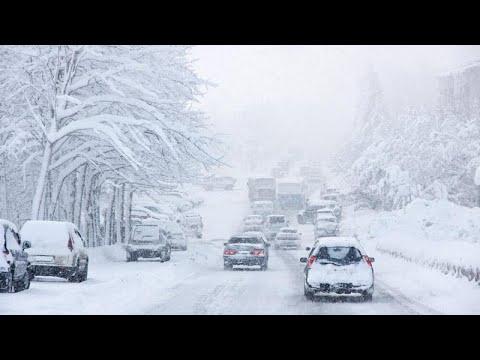 Σφοδρές χιονοπτώσεις σε Γερμανία και Ολλανδία