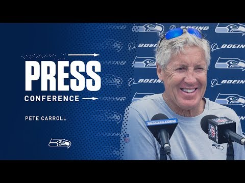 Seahawks Head Coach Pete Carroll Minicamp Day 3 Press Conference