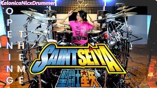 Saint Seiya - Pegasus Fantasy   Drum cover by Kalonica Nicx