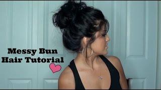 The Perfect Messy Bun Hair Tutorial