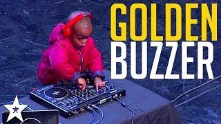 WORLD'S YOUNGEST DJ gets GOLDEN BUZZER on SA's Got Talent