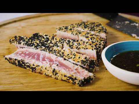 Sesame Crusted Ahi Tuna How-To Recipe