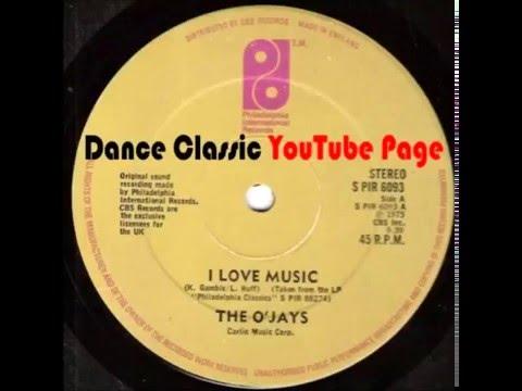 The O'Jays - I Love Music (A Tom Moulton Mix)