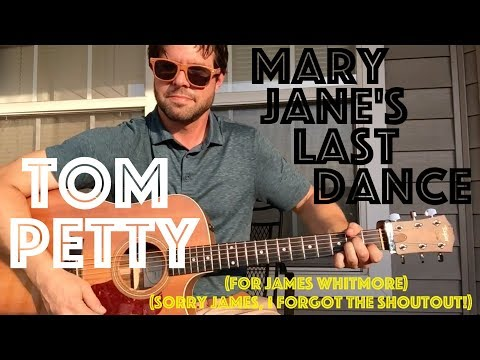 Mary Janes Last Dance Guitar Lesson W Chords Tom Petty 4d