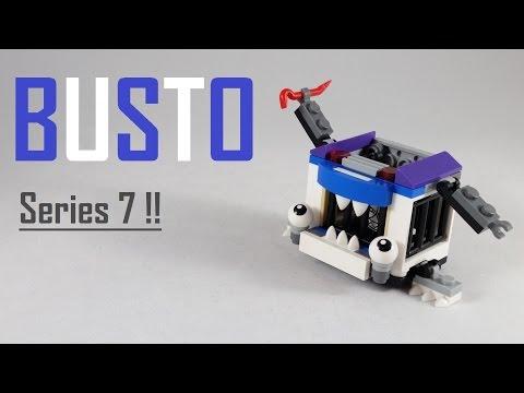Vidéo LEGO Mixels 41555 : Busto