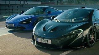 McLaren 720S vs McLaren P1   Top Gear: Series 25   BBC