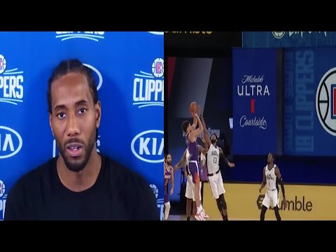 Kawhi Leonard Reacts To Devin Booker's Game Winner Over The Clippers. HoopJab NBA