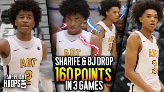 AAU's #1 DUO IS BACK!! Sharife Cooper & Brandon Boston PUT UP 160 PTS at The 2019 Tipoff Classic