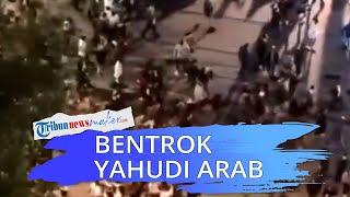 Tolak Integrasi Yahudi-Arab, Demonstran Ektremis Yahudi Bentrok dengan Pendemo Arab