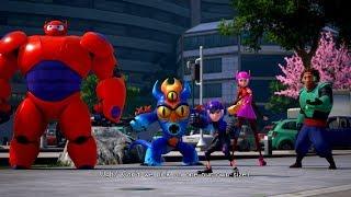 Kingdom Hearts 3 English Big Hero 6 Cutscene San Fransokyo Full Game PS4