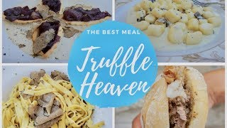 TRUFFLE HEAVEN MUST EAT IN ASSISI UMBRIA, ITALY TRAVEL FOOD VLOG: BEST MEAL EVER!