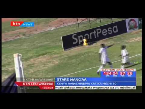 Timu ya taifa ya Soka Harambee Stars imeandikisha ushindi wa mabao mawili kwa moja dhidi ya Congo