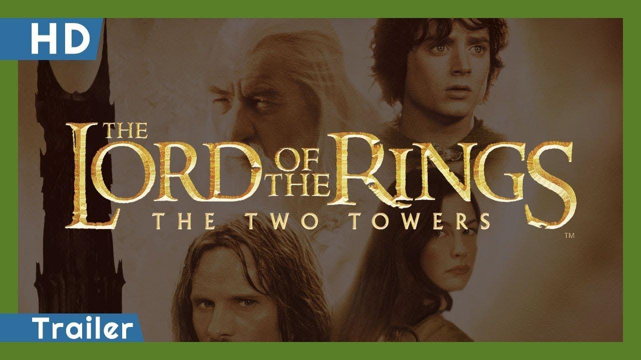 Trailer för Sagan om de två tornen - härskarringen