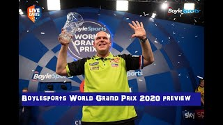 Boylesports World Grand Prix 2020 preview & predictions: Can MVG make it six of the best?