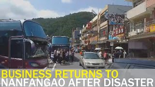 Business returns to Nanfangao two weeks after deadly collapse | Taiwan News | RTI