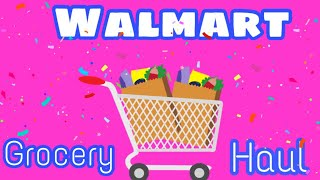 Walmart Grocery Haul | Weight Watchers Freestyle