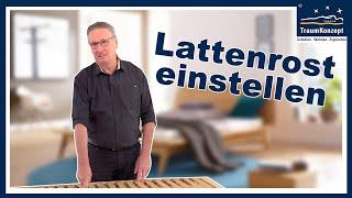 Lattenroste RICHTIG einstellen- FRAG DEN JÄGER - Folge 32