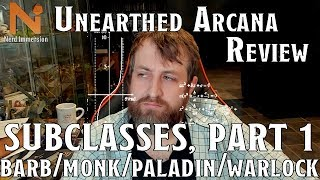 Unearthed Arcana Review: Subclasses, Part 1 (2020) | Nerd Immersion