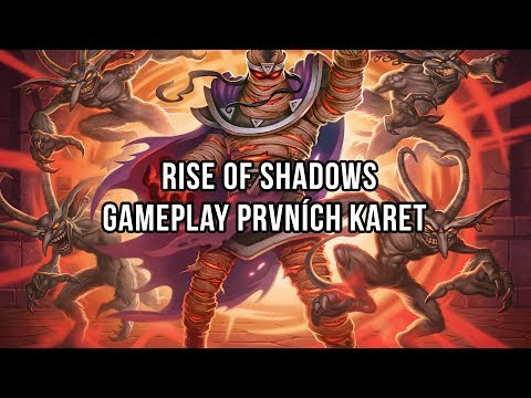 Rise of Shadows   Gameplay prvních karet
