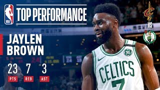 Jaylen Brown Leads Celtics To A 2-0 Series Lead vs The Cavaliers - Video Youtube