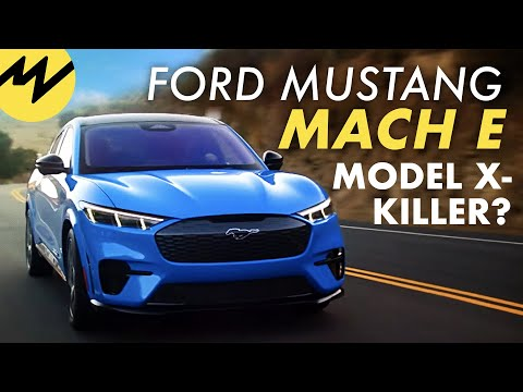 Ford Mustang Mach E   Ernstzunehmende Konkurrenz für Tesla?   Motorvision