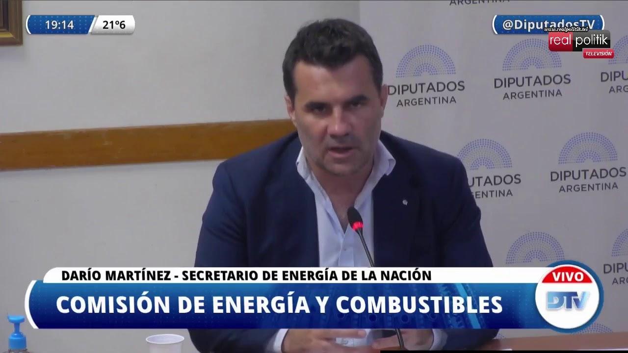 Diputados: El secretario de Energía expone sobre la Ley de Biocombustibles