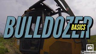 How to Operate a John Deere 450J Bulldozer (Basic Controls)