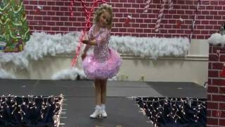 Toddler beauty pageant