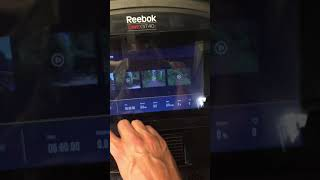 Review of Reebok One GT40s treadmill