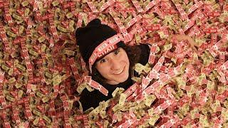 Cashing In 100,000 Arcade Tickets!