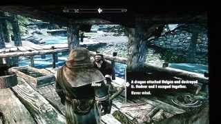 Skyrim part 2 the girl with claw tattoo