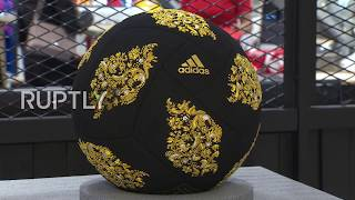 Russia: Adidas welcomes World Cup with luxurious football covered with Swarovski crystals