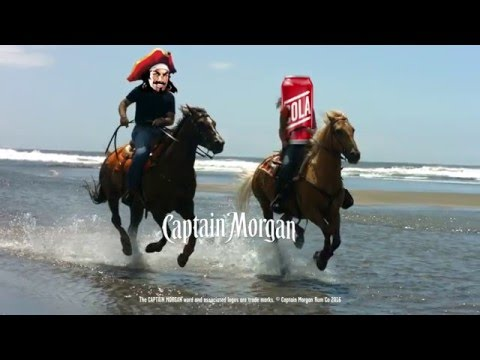 Captain Morgan Commercial (2016) (Television Commercial)