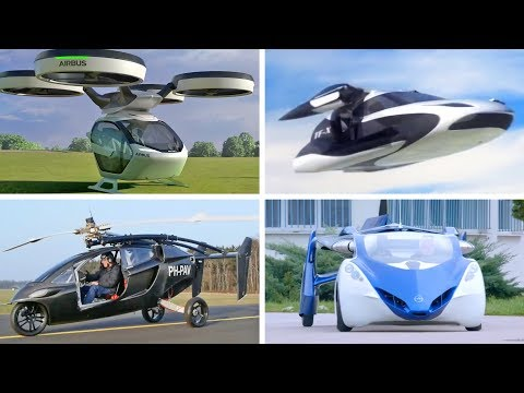 TOP 5 Best Flying Cars