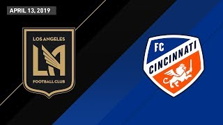 LAFC vs. FC Cincinnati | HIGHLIGHTS - April 13, 2019