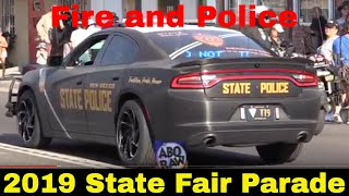 2019 State Fair Parade Fire & Police Edition with Sirens