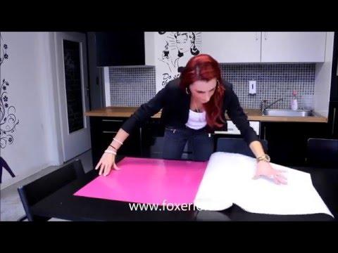 Küche mit Klebefolie nass verkleben (Anleitung)