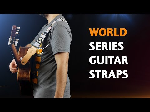 ORTEGA GUITARS | COTTON STRAPS FOR GUITAR (WORLD SERIES)