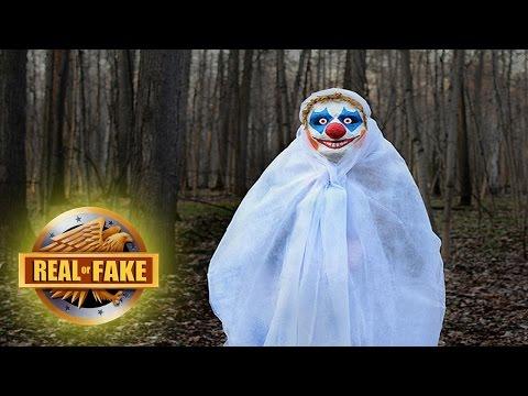CREEPY CLOWNS - real or fake?